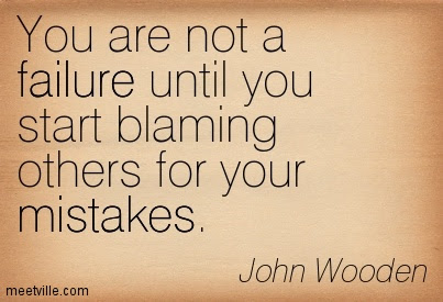 Quotes About Blaming 190 Quotes
