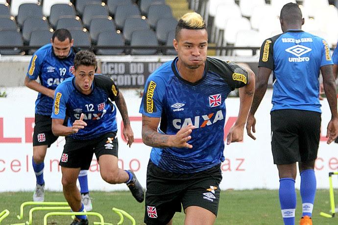 Rafael Silva treino Vasco (Foto: Paulo Fernandes/Vasco.com.br)