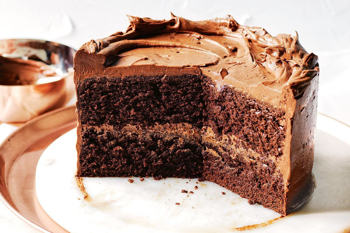 Chocolate 'soup' cake - Recipes - delicious.com.au