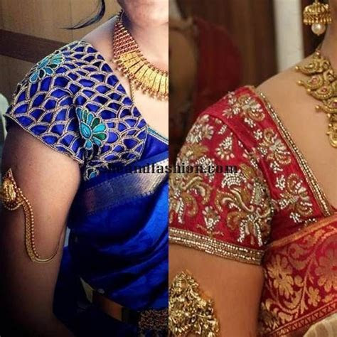 South Indian Wedding Bridal Blouse hand designs   Blouse