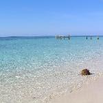 West Bay beach - A very short stroll from Las Rocas