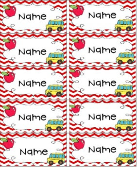 Editable First Day Name Tags by Christine Statzel   Teachers Pay ...
