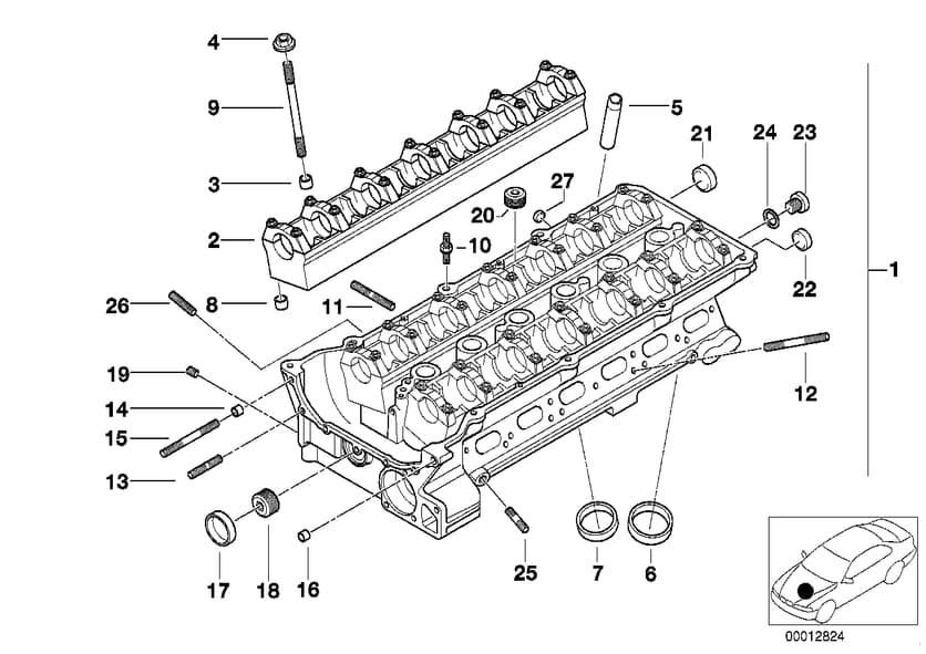 35 Bmw N62 Engine Diagram
