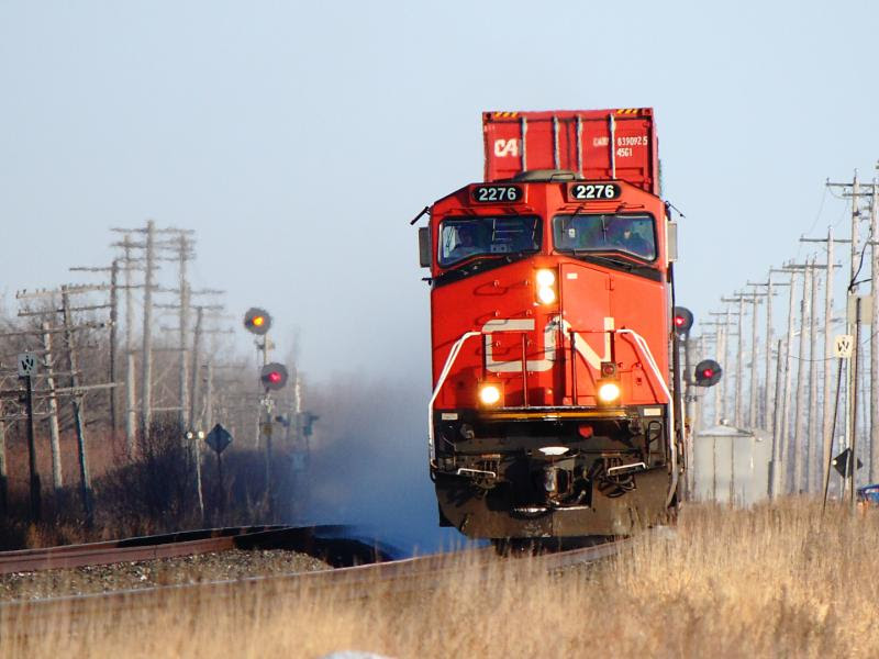 CN 2276 in Winnipeg