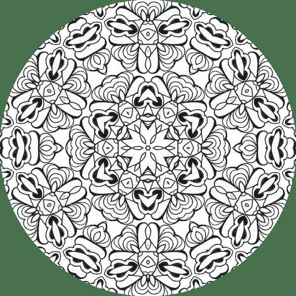 Le Coloriage Anti Stress Comment ça Marche Dessin De Mandala