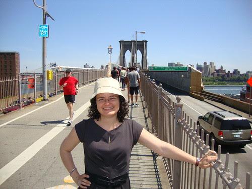 me and the Brooklyn Bridge