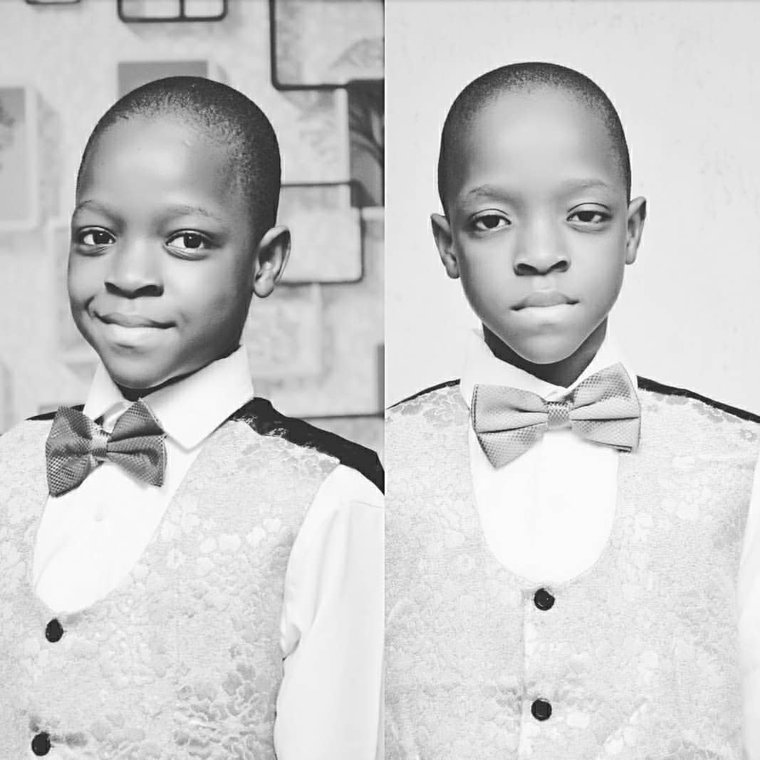 Actor, Femi Adebayo Celebrates His Twin Sons On Their Birthday (Pictures)