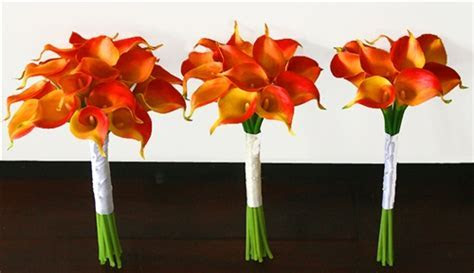 Floramatique Natural Touch Calla Lilies Bouquet