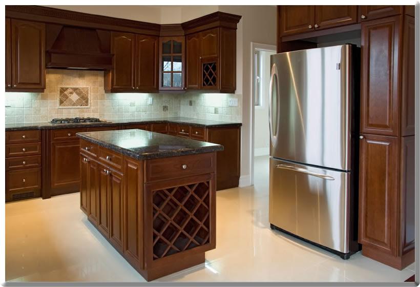 Spray Lacquer Finish Damage | Kitchen Cabinet Refinishing ...
