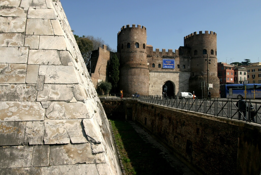 City Gate and Pyramid of Cestius