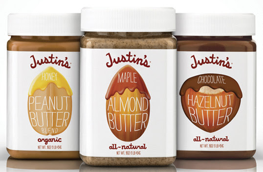 examples of Justin's Nut Butters
