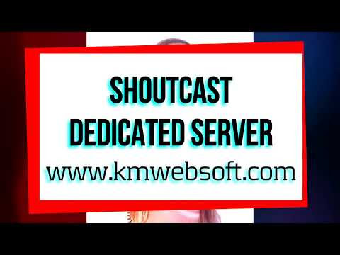 Shoutcast Centova Dedicated Server - kmwebsoft.com