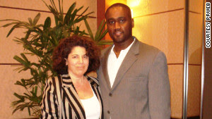 Albert Florence poses with lawyer Susan Chana Lask in this undated photo.