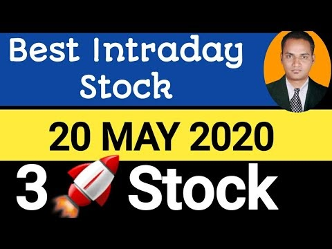 Best intraday trading stock For 20 May 2020   stock for tomorrow trading...