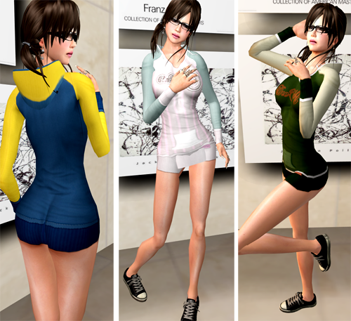 NEW! DeeTaleZ Tops sporty hoodie dress