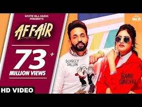 Affair (Full Video) Baani Sandhu ft Dilpreet Dhillon, Jassi Lokha   Latest Punjabi Song 2019