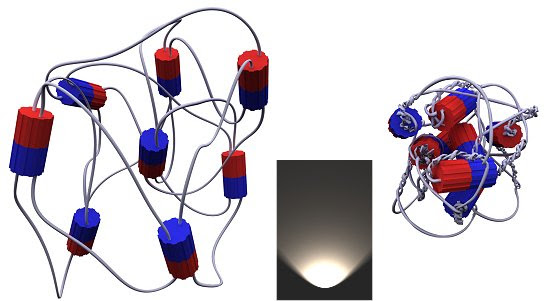 Músculo artificial armazena energia da luz