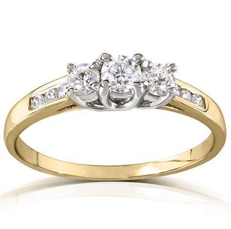 Kobelli Jewelry 3 Stone Engagement Ring   Meghan Markle's