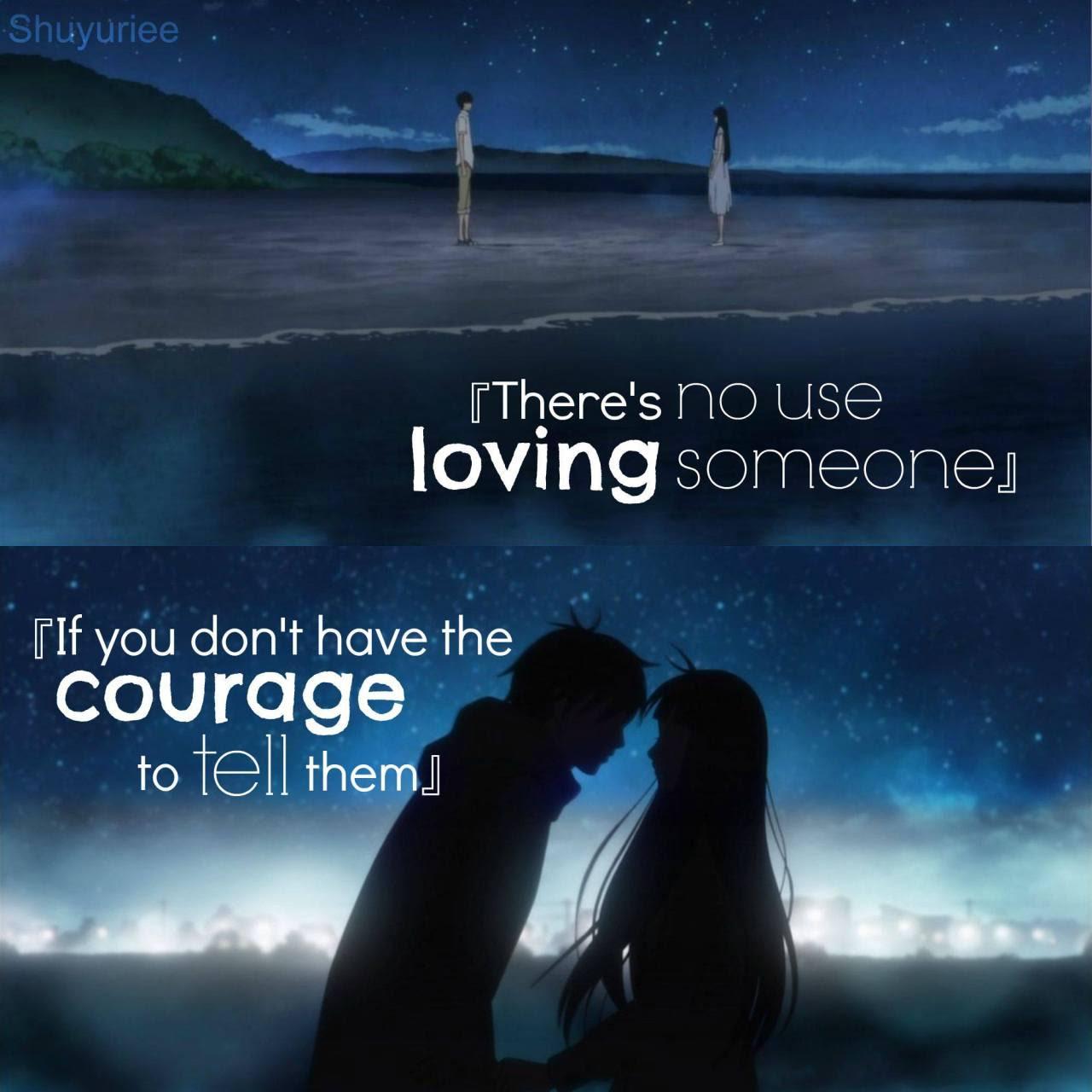 Tags Shuyuriee Kimi ni Todoke kazehaya Sawako sawako x kazehaya Anime quotes anime love quotes love quotes quotes