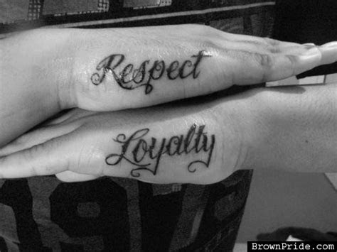 awesome respect tattoos