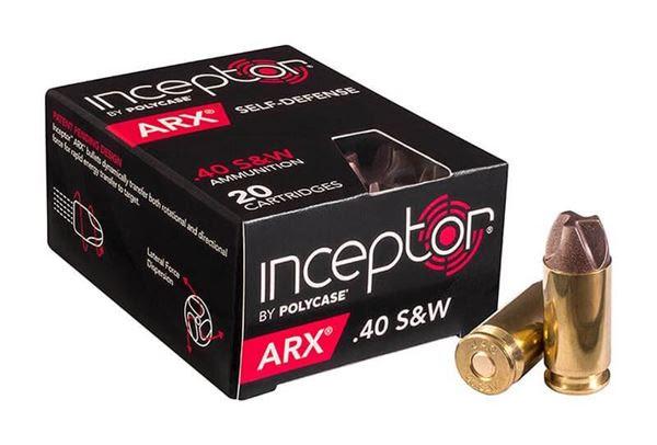K-Var Corp | Polycase Inceptor ARX .40 S&W Ammo - Box of 20