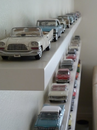 Model cars at Mark's friends Ralph and John's home in Los Angeles by litlesam