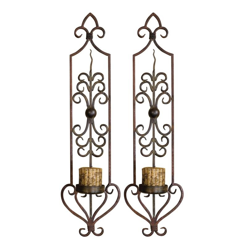 Uttermost Privas Wall Sconces Set of 2 at HSN.