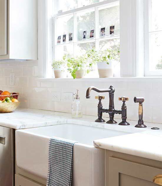 Simple Updates To Transform Your: Joe Doll: Change Out Your #kitchen Faucet For A Simple