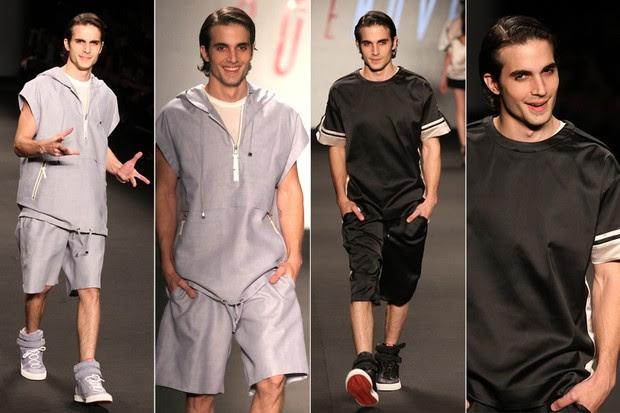 Fiuk desfila pela Coca Cola Jeans no Fashion Rio (Foto: Claudio Andrade / Foto Rio News)