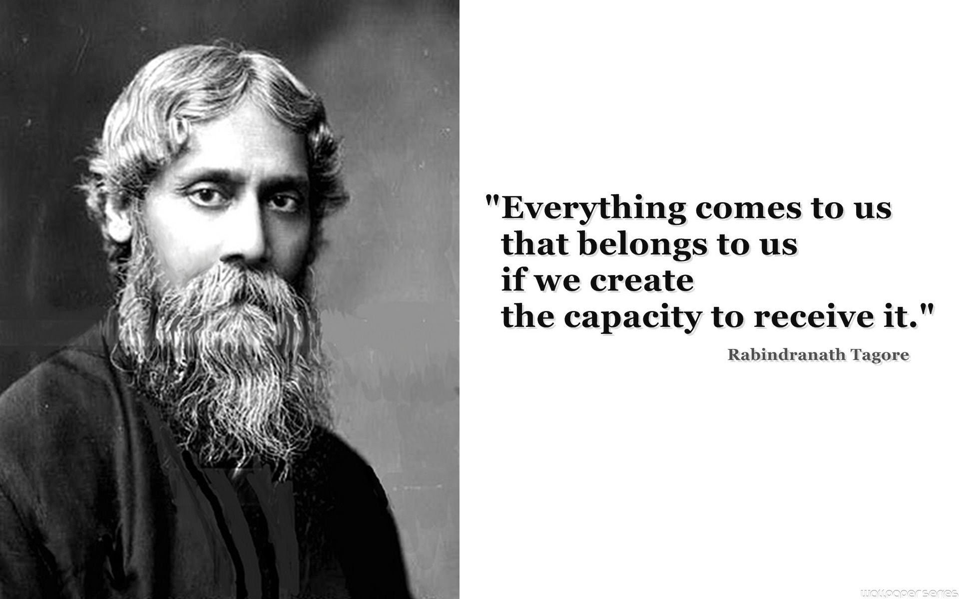 Rabindranath Tagore Quotes Wallpapers Hd Backgrounds Images Pics