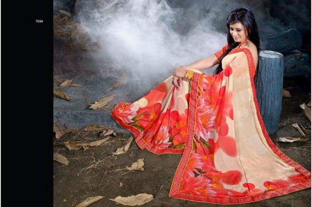 Womens-Girl-Wear-Beautiful-Sari-New-Fashion-Color-Printed-Saris-by-Prerna-Poly-Georgette-Sarees-1
