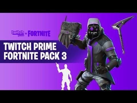 Twitch Prime Pack 3 Fortnite 2019   Fortnite Aimbot 2019 Pc