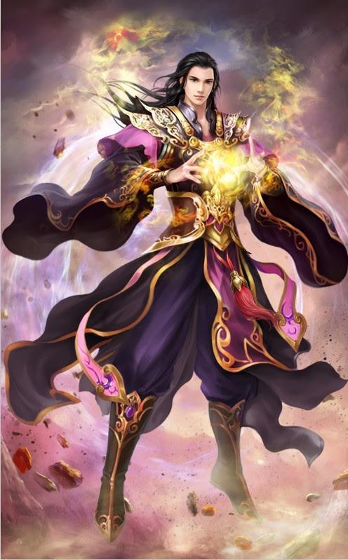 "BTTH: Flame Emperor ""Xiao Yan"""