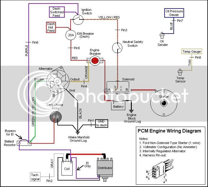 Mercruiser 57 Alternator Wiring Diagram