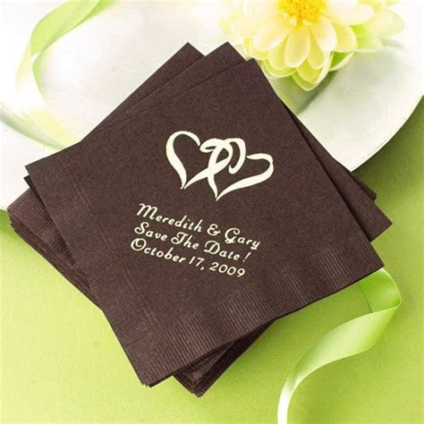 Personalized Wedding Napkins   personalized napkins