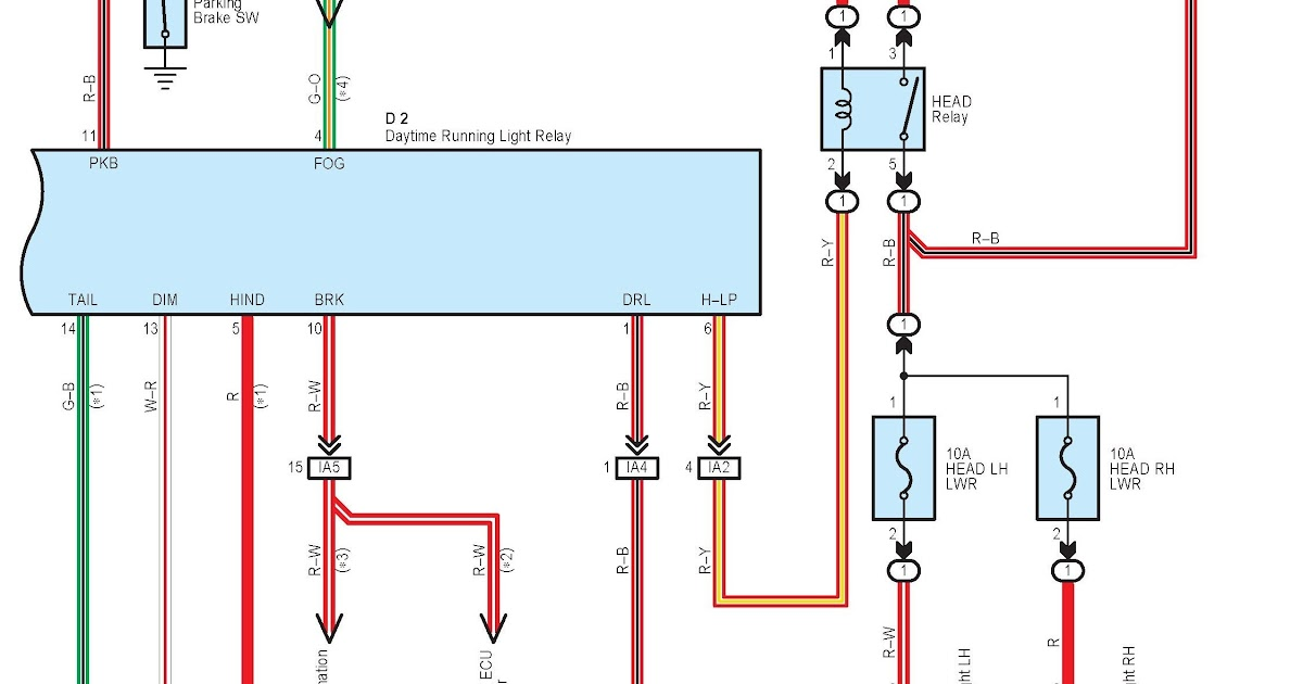 55 Inspirational Daytime Running Light Wiring Diagram