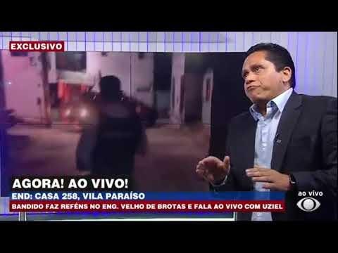 SÓ TEM NO BOCA ! FAMILIA É FEITA REFEM E REPORTER ENTRA NA CASA