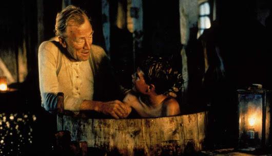 Max von Sydow y Pelle Hvenegaard en 'Pelle, el conquistador', de Bille August