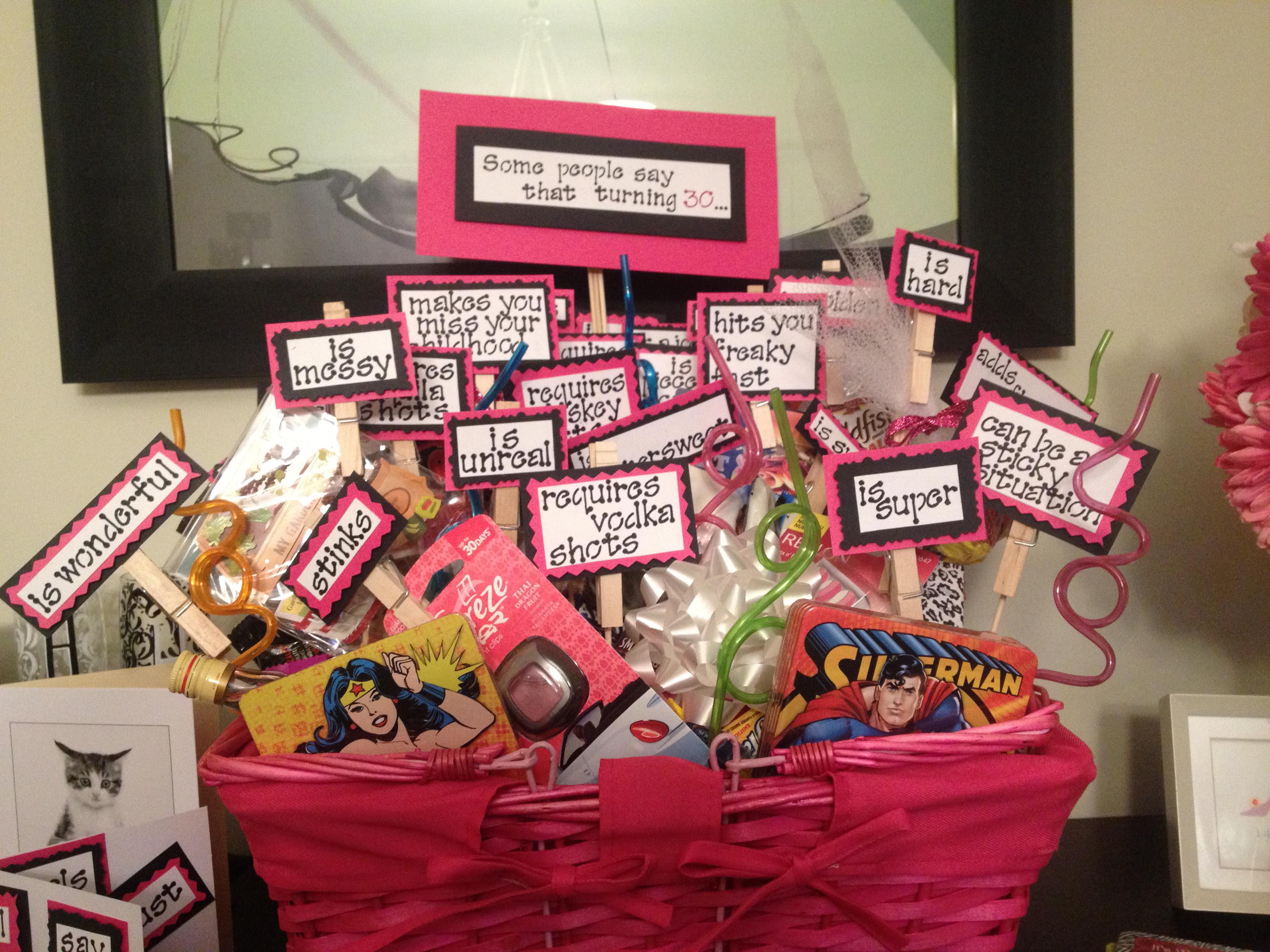 ... other | Tags: birthday , birthday basket , Turning 30 Birthday Basket