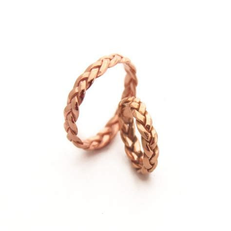 12 Elegant Rose Gold Wedding Bands   Intimate Weddings