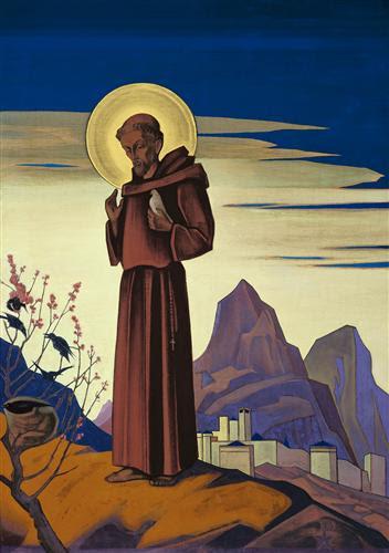 St. Francis - Nicholas Roerich