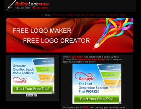 web based logo creator tools blueblotscom