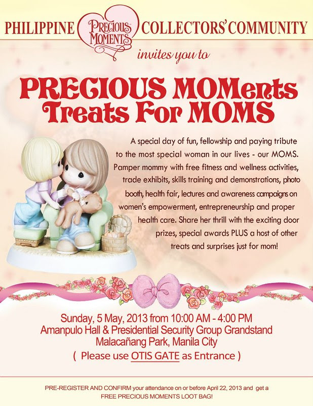 PRECIOUS MOMents Free Treats for Moms