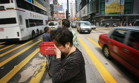 Bike Blog: traffic in Hong Kong