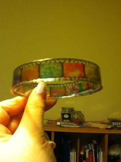 Resin Jewelry : Film Strip Resin Bangle Tutorial