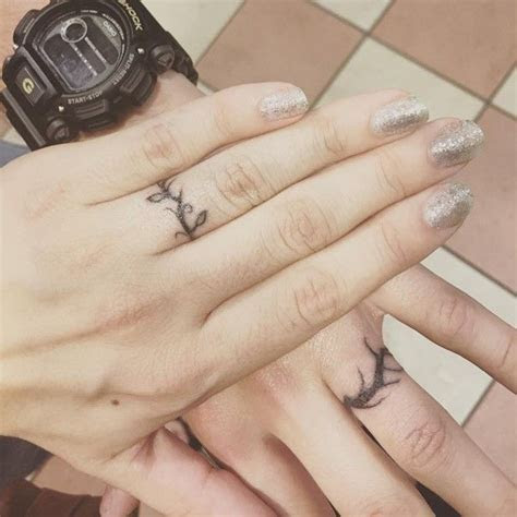 1000  ideas about Ring Tattoo Wedding on Pinterest