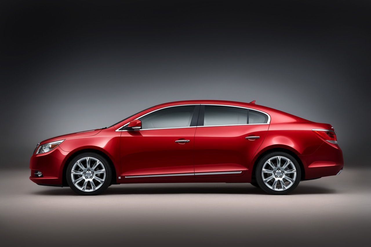 POWER CARS: Buick LaCrosse CXS AWD