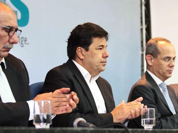 Ministro Mendonça Filho participou de evento na sede da Amupe, no Recife (Foto: Marlon Costa/ PE Press)