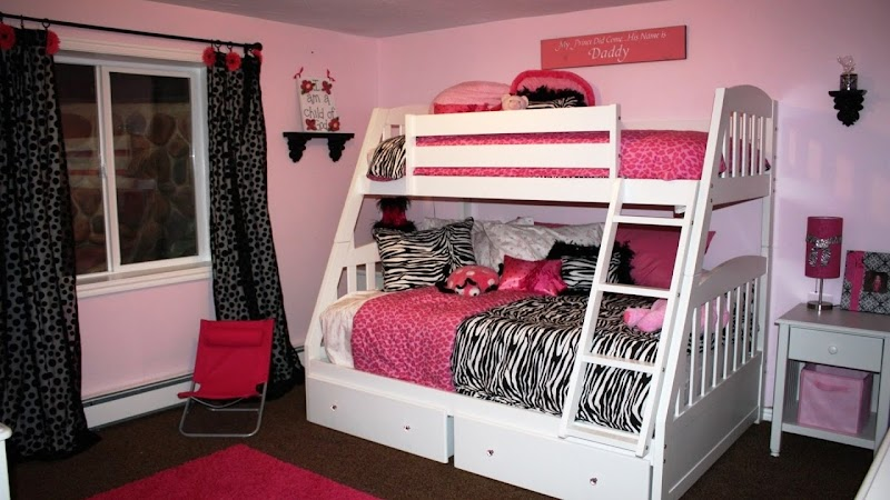 Beautiful Bedroom Ideas For Girls With Bunk Beds wallpaper