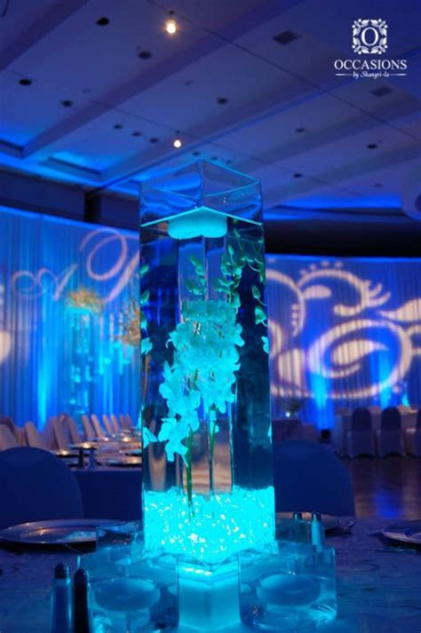 25  best ideas about Water centerpieces on Pinterest